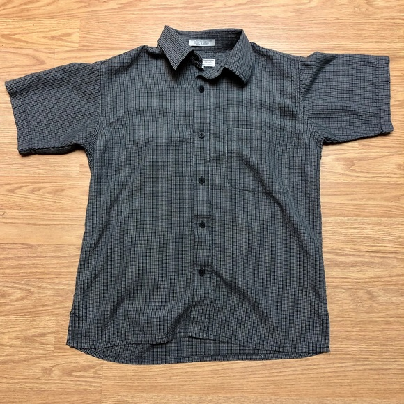 authentic shaolin Other - Authentic Shaolin Boys Small grey Button Down Top